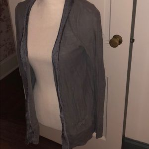Lauren Conrad Grey Cardigan Sweater